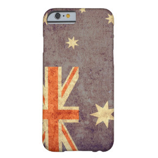 Australia Flag - Grunge Barely There iPhone 6 Case