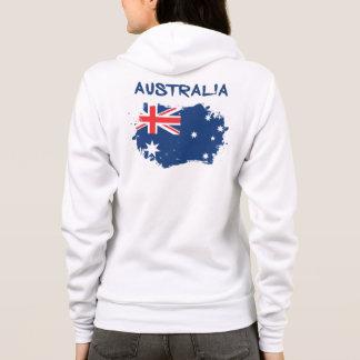 Australia Flag Hoodie