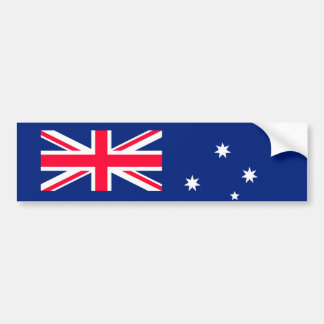 Australia flag image for Bumper-Sticker Bumper Sticker