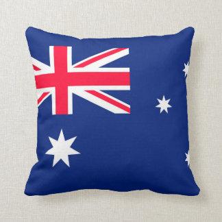 Australia flag image for Throw-Cushion Throw Pillow