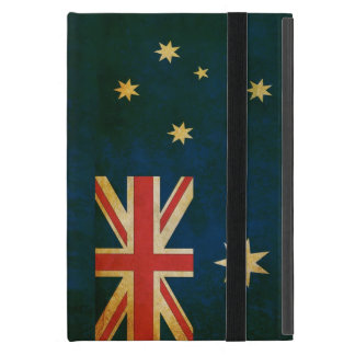 Australia Flag in Grunge iPad Mini Cover