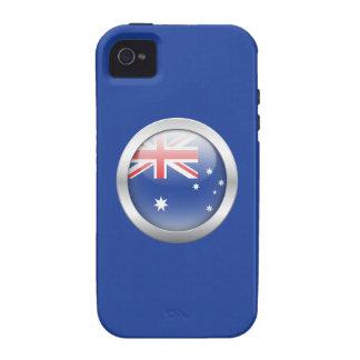 Australia Flag in Orb iPhone 4/4S Cases