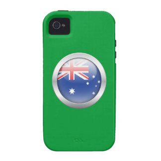 Australia Flag in Orb iPhone 4 Cases