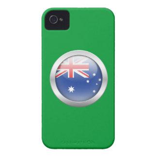 Australia Flag in Orb iPhone4 Case