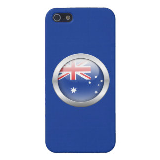 Australia Flag in Orb Cover For iPhone 5