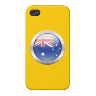 Australia Flag in Orb iPhone 4/4S Case