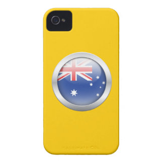 Australia Flag in Orb iPhone 4 Cover