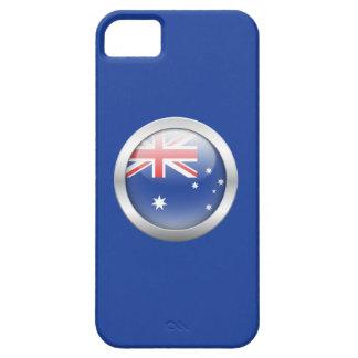 Australia Flag in Orb iPhone 5/5S Cases