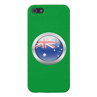 Australia Flag in Orb Case For iPhone 5