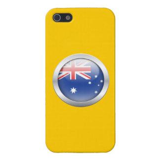 Australia Flag in Orb iPhone 5 Cases