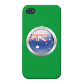 Australia Flag in Orb Case For iPhone 4
