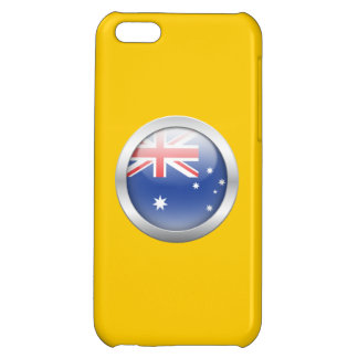Australia Flag in Orb Cover For iPhone 5C