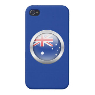 Australia Flag in Orb iPhone 4/4S Covers