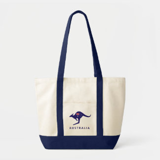 AUSTRALIA FLAG KANGAROO BAG