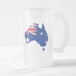 australia flag map coffee mugs
