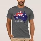 Australia Flag-Map Shirt