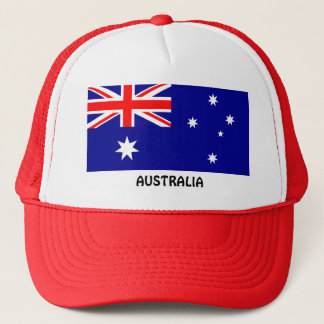 Australia: Flag of Australia Trucker Hat