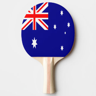 Australia Flag Ping Pong Paddle