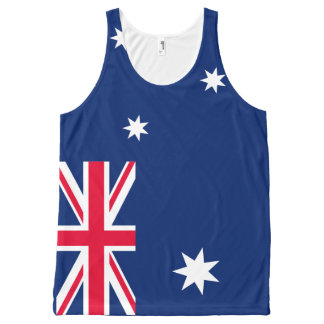 Australia Flag Tank top