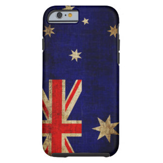 Australia Flag Tough iPhone 6 Case