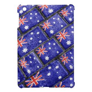Australia Flag Urban Grunge Pattern Cover For The iPad Mini