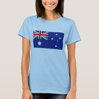 Australia Flag x Map T-Shirt