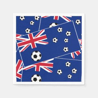 Australia football flag s6 pillow.png disposable napkins
