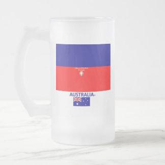 Australia Frosted Mug