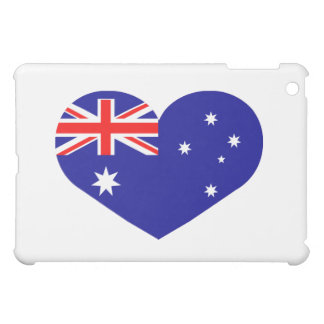 Australia heart iPad mini cases