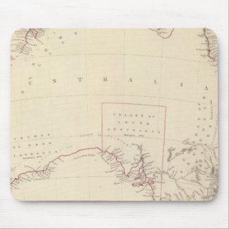 Australia in 1839 mousepads
