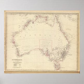 Australia in 1839 poster