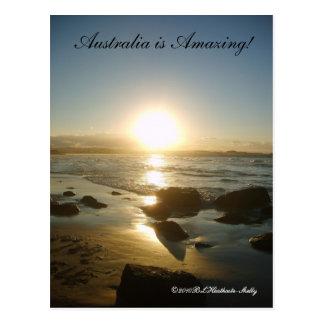 Australia is Amazing! postcard