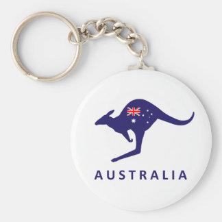 Australia Kangaroo Flag Key Chains