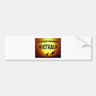 AUSTRALIA KANGAROOS.jpg Bumper Sticker