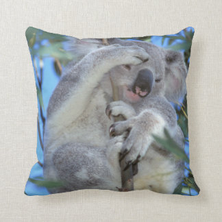Australia, Koala Phasclarctos Cinereus) Throw Pillow