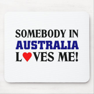 Australia Loves me Mouse Pad