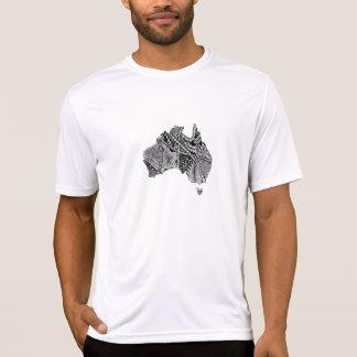 Australia Map Doodle T-Shirt