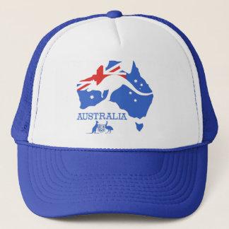 Australia Map Trucker Hat