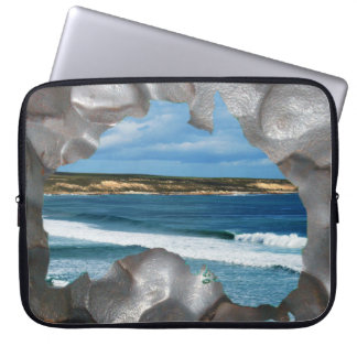 Australia Map With Sea Views 15 Inch Laptop Sleeve