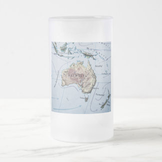 Australia Frosted Beer Mugs