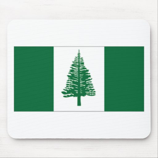 Australia Norfolk Island Flag Mouse Pads