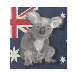 Australia Notepad