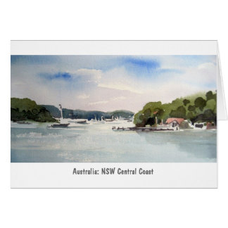 Australia, NSW Central Coast: Greeting Card