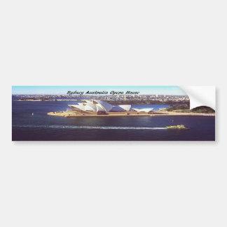 Australia Opera House Bumper Stickers
