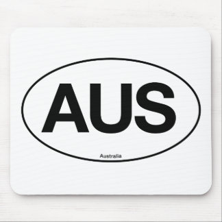 Australia Oval Mouse Pads