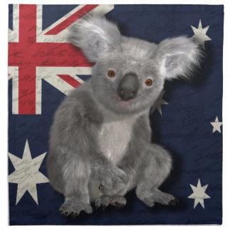 Australia Printed Napkin