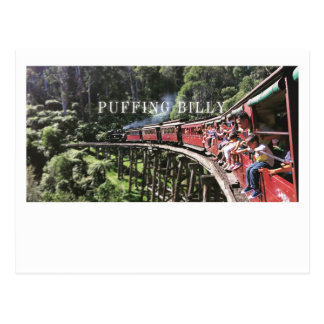 Australia Puffing Billy Post Card