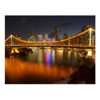 Australia, Queensland, Brisbane, Story Bridge, 2 Postcard