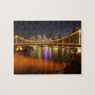 Australia, Queensland, Brisbane, Story Bridge, 2 Puzzles