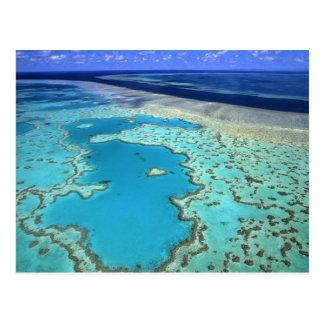 Australia - Queensland - Great Barrier Reef. 7 Postcard